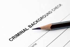 Did someone run a background check on you?