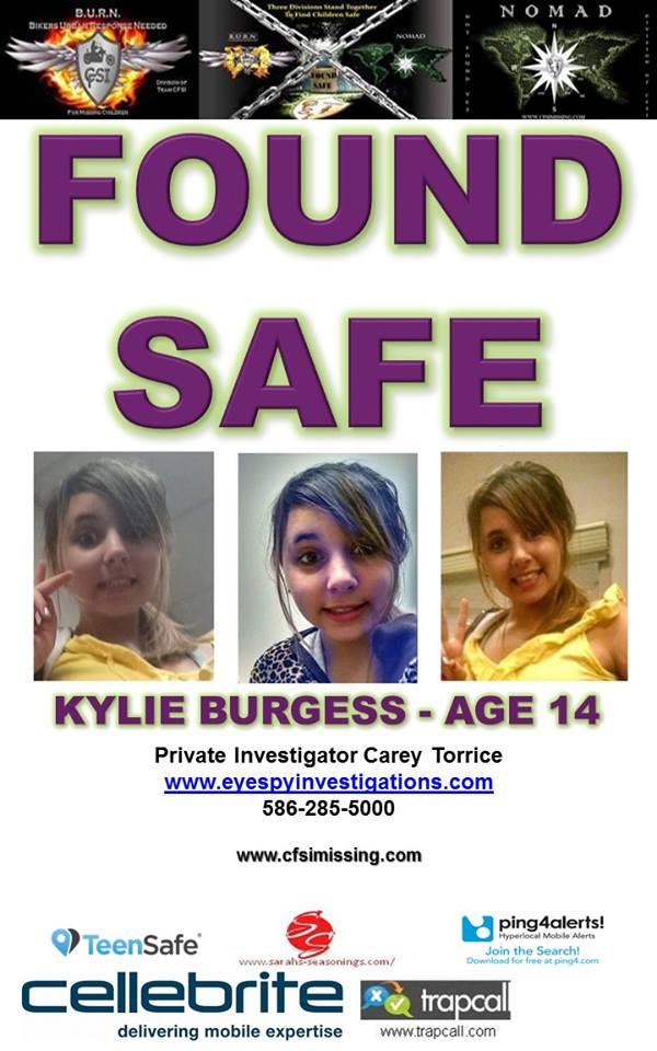 Found Kylie Burgess Eye Spy Detective Agency