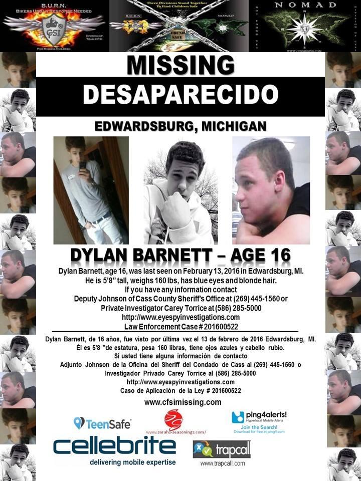 Missing Michigan Teen